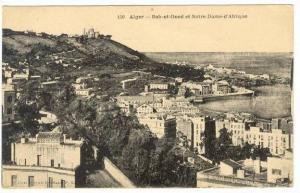 ALGER - Bab-el-Oued et Notre-Dame-d'Afrique, PU-1925
