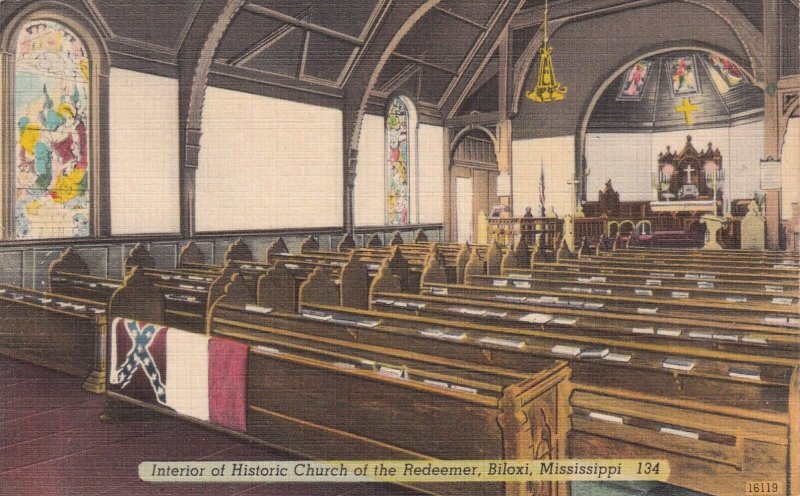 BILOXI , Mississippi , 1930-40s ; Church of the Redeemer