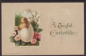 A Joyful Eastertide,Chick Postcard
