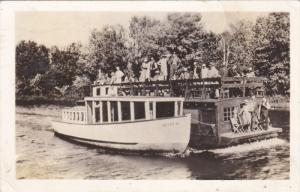 RP: Tour Ferry , NEWBERRY , Michigan , PU-1937