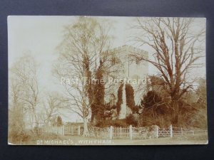 Sussex WITHYHAM St Michaels Church (2) c1906 RP by Harding of East Grinstead