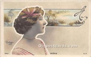 Reutlinger Photography Post Card Reutlinger Photography Post Card Mieris
