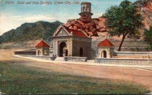 Colorado Canon City Soda and Iron Springs 1913