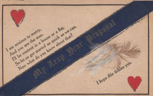 LEAP YEAR 1908 ; Attached feather