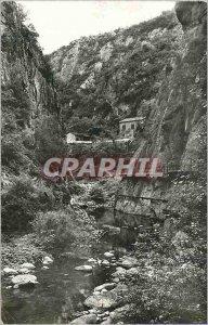 Modern Postcard Amelie les Bains (P O) The Mondony Gorges Au Fond Belvedere