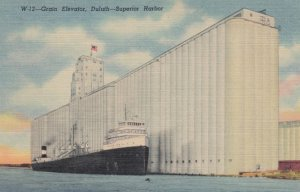 DULUTH, Minnesota, 1930-1940s ; Grain Elevator