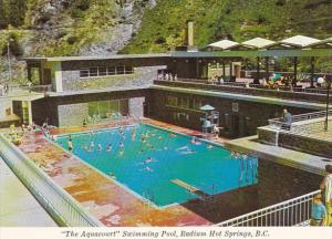 Canada Aquacourt Swimming Pool Radium Hot Springs British Columbia
