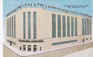 Louisiana New Orleans International Trade Mart 1950