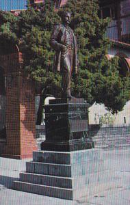 Henry M Flagler Statue Flagler College St Augustine Florida