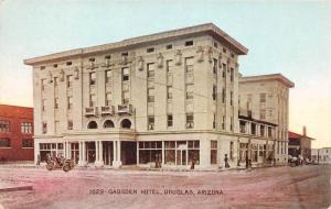 E1/ Douglas Arizona Az Postcard c1910 Gadsden Hotel Building 3