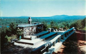 Postcard Cathedral Of The Pines, Altar Of The Nation, Rindge, NH