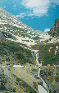 Bird Woman Falls Glacier National Park Idaho