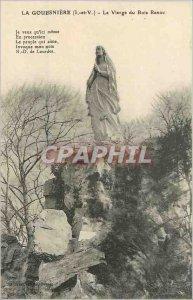 Old Postcard La Gouesniere L and V Virgin