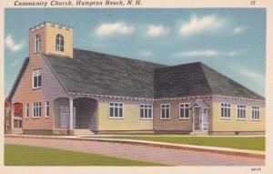 New Hampshire Hampton Beach Community Church