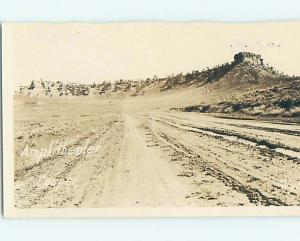 Damaged Trimmed Pre-1930 rppc OUTDOOR AMPHITHEATER Casper Wyoming WY HM3276