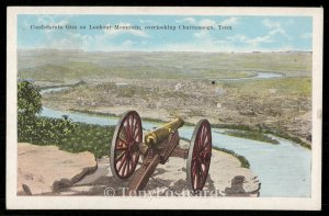Confedderate Gun on Lookout Mountain, overlooking Chattanooga