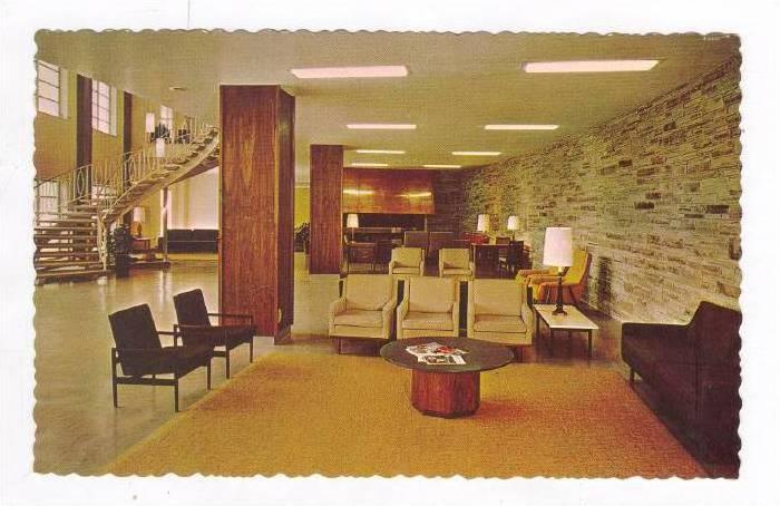 Lobby, Pritchell Hall, Ridgecrest Baptist Conference Center, Ridgecrest, Nort...