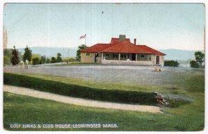 Leominster, Mass, Golf Links & Club House