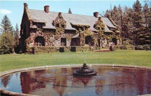 Grass Valley California~The Mansion~1950s PC