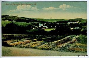 Burkeville MA Bement's Hill View Postcard