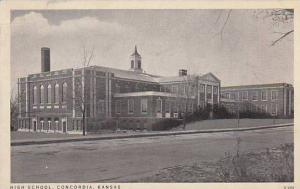 High School, Concordia, Kansas, PU-1939