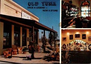 Arizona Yuma Old Yuma Mercantile Building Built 1899