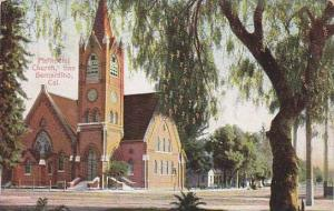 Street view, Methodist Church, San Bernardino, California,  PU-00-10s