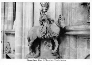 Regensburg Dom St Mauritius Statue Cathedral