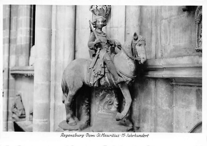 Regensburg Dom St Mauritius Statue Cathedral