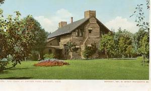 MI - Detroit, Log Cabin at Palmer Park