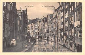 Amsterdam Holland OZ Achterburgwal Amsterdam OZ Achterburgwal
