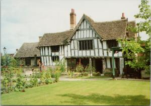 Evesham Museum UK Rear of Almonry and Garden Tanner UNUSED Postcard D59