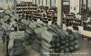 ANDERSON , Indiana , 00-10s ; Gospel Trumpet Company , Mail Room