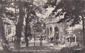 France Vichy Parc de la Source des Celestins 1953 Photo