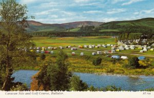 Caravan Site & Golf Course , BALATER , Scotland , 1975