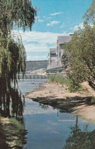 Tranquil Scene Beside the Floating Bridge Across Kelowna Lake, Kelowna, Briti...