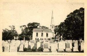 RI - Little Compton. First Congregational Church