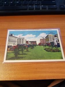 Antique/Vintage Florida Postcard, Palafox Street, Pensacola, Florida