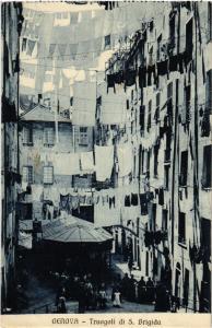 CPA GENOVA Truogoli di S. Brigida . ITALY (506006)