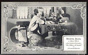 USA Silent Movie Stars Monte Blue Sheffer Kings & Qieens Series 1922