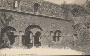 Gand Les ruines de l'abbaye de St Bavon