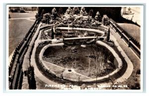 Postcard Firemen's Pool, Portland, Oregon OR 1904-1950 RPPC I22