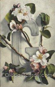 Series 526. 7 Artist Signed Catherine Klein 1906