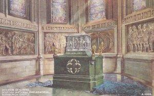 EDINBURGH, Scotland, 1900-1910s; Interior Of Shrine, Scottish National War Me...