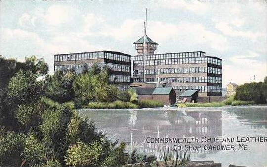 Maine Gardiner Commonwealth Shoe & Leather Company Shop