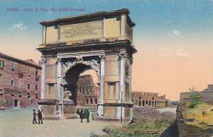 Arco Di Tito, Lato Settentrionale, Roma (Lazio), Italy, 1900-1910s
