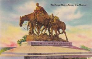 The Pioneer Mother Kansas City Missouri
