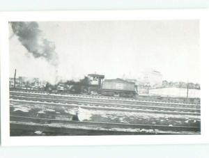 Pre-1980 This Is Not An Rppc BLACK-AND-WHITE OLD TRAIN AC7449