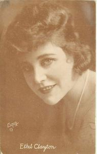 Ethel Clayton 1920s Silent Movie Actress Postcard Evans 556