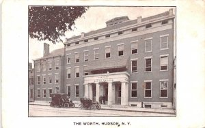 The Worth Hudson, New York Postcard